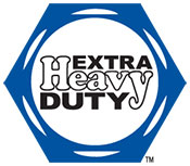 Extra Heavy Duty Hex Logo